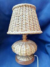 Rotin vintage dans éclairage et lampes du xxe siècle | eBay