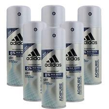 6 x 150ml Adidas Adipure 48H Deo Deospray Herren Deodorant Parfüm Bodyspray