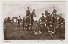 Military postcard - Our Galliant Belgian Allies in the Field - (A27)