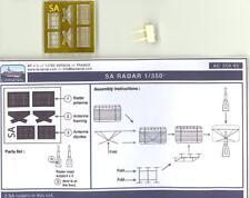 L'Arsenal Models 1/350 SA RADAR (2) Resin & Photo Etch Set