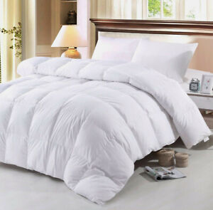 Luxury Hotel Quality 10.5 Tog Goose Feather and Down Duvet Quilt Pillow All Size