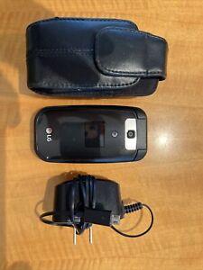 LG B470 (AT&T) Black Cellular Flip Phone