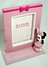 "Disney Store Minnie Mouse Photo Frame Dimensional Figurine Pink 9"" T (4x6 Photo)"