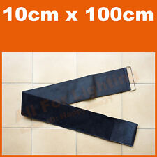 10cmx100cm Elastic Strap Hook Loop Fastener Bungee Belt Wrap Tie Fishing Hiking
