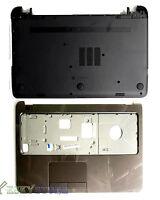 NEW Hp 15-G Palmrest Top Cover upper case + bottom Case Base Combo USA