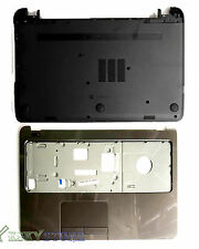 NEW Hp 15-G Palmrest Touchpad Top Cover upper case + bottom Case Base Combo USA