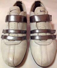 Seltenes Einzelstück: Vintage NIKE SHOX Echtleder Sneaker Gr.39 Weiß-Silber❗️