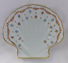 Haviland French Shell Bowl Porcelain Vieux Sevres Decor 18 Siecle France