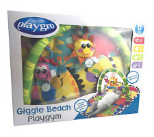 Playgro Spieldecke Krabbeldecke Babydecke Babyspielzeug Spielebogen