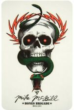 POWELL PERALTA - Mike McGill Skull & Snake - Skateboard Sticker - BONES BRIGADE