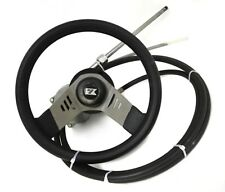 Teleflex Marine Boat Steering AY Rotary Helm SH5023 13.5' Cable SSC7273 & Wheel