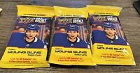 Upper Deck Hockey 2020-21 Series 2 Young Guns Rookie 32 Card Pack - Lot of 3 pks