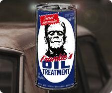 Frankies Oil Treatment Sticker Sticker Frankenstein Rat Fink Hot Rod STP