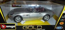 car 1/18 BBURAGO 18-12032 BMW Z8 2000 MET SILVER NEW BOX