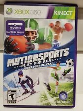 Motionsports: Play For Real (Microsoft Xbox 360, 2010) Kinect Sensor Required