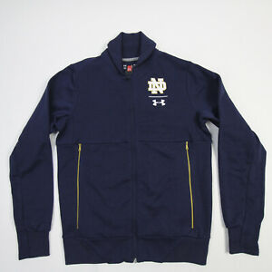 Notre Dame Fighting Irish Under Armour Jacket Men's Navy New with Defect