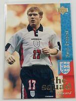 1997 Upper Deck England #24 Soccer Card - PAUL SCHOLES England Rookie