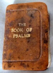 MINIATURE BOOK OF PSALMS- BIBLE VERSION.SCRIPTURE GIFT MISSION. BIJOU EDITION AF