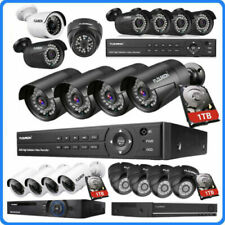 1080P CCTV Surveillance Camera System 8 Channel DVR 1TB Hard Drive Home Security