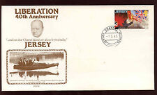Jersey 1985 Liberation 40th Anniversary Cover #C11938