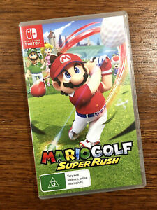 Mario Golf: Super Rush *Next Day Post from Sydney* Nintendo Switch Game