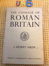 More details for 1967 vgc hardback- askew g., the coinage of roman britain