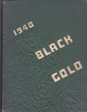 1940 Black and Gold - Yearbook for Winston-Salem, NC High Schools - SEE Names!