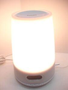 PHILIPS HF3470 WAKE-UP NATURAL LIGHT THERAPY WHITE SUNRISE FM RADIO ALARM CLOCK