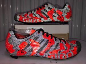 Giro Empire SLX Orange Lava Black 3M REFLECTIVE Road Cycling Shoe $350 8 EU41 W9