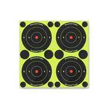 "Gun Shoot 3"" Round 240 Paper Targets 600 Pasters, BB Rifle Pistol Train Pro, NEW"