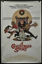 A CHRISTMAS STORY 1983 ORIG 27X41 MOVIE POSTER PETER BILLINGSLEY MELINDA DILLON