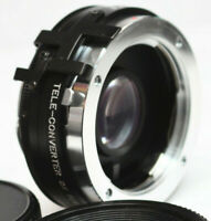 Magnum MC Auto 2X Tele Converter For Minolta MD Mount Manual Lens