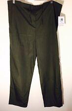 NWT Adar Uniforms Unisex Olive Nurses Scrub Pants- Size Medium