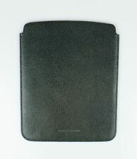 NWT BRUNELLO CUCINELLI Green Leather Ipad Air 2 3 4 Tablet Sleeve 10.10X8 $1025