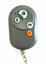 Keyless remote entry 4 button aftermarket transmitter Control fob starter red