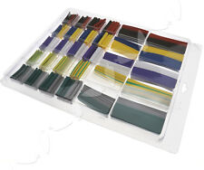 500 x Assortment 2:1 Heat Shrink Tubing Tube Cable Sleeving Wrap Wire Box