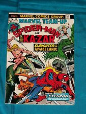 MARVEL TEAM-UP # 19, Mar. 1974, SPIDER-MAN & KAZAR, GIL KANE Art, VERY FINE