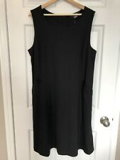 Addition Elle Dress, Size 2X, Black With Zipper, Brand New With Tags