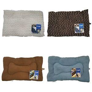 NAP™ PET BED Built by FURHAVEN™ Ultra Plush Pillow Cat & Dog Beds Color Choices