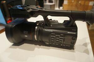 Panasonic AG-AC 90 FULL HD Camcorder - Schwarz Händler XLR Mikro