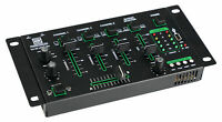 Mixer DJ Studio 4 Canali Bluetooth Integrata USB Lettore Mp3 Cue Microfono Audio