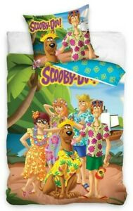Scooby Doo Bedding Single All characters 140 x 200cm pillow case and duvet cover