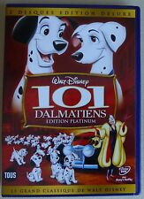 DVD Disney LES 101 DALMATIENS édition platinium