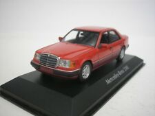 Mercedes Benz 230e W124 1991 1/43 Maxichamps (red)