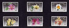 Hong Kong - 1985 Native Flowers - U/M - SG 497-502