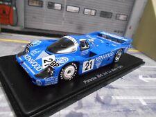 Porsche 956 l talla c le mans 1983 #21 Kenwood Sonauto andretti alliot Spark 1:43