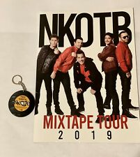 New Kids On The Block 2019 Mixtape concert program • Including Souvenir Keychain