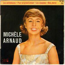 """MICHELE ARNAUD """"LES CORNEMUSES"""" 60'S EP PATHE 556"""