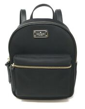 Kate Spade Small Bradley Wilson Road Nylon Backpack WKRU4717 Black