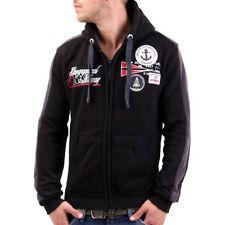 Men's Cotton Blend Hooded Fleece Coats & Jackets